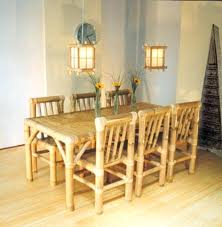 glass table and chairs for sale bamboo dining sets bamboo dining room furniture indoor rattan bamboo