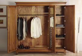 Solid Wood Armoire Wardrobe Wardrobe Closet Unfinished Roselawnlutheran