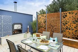 Decorative Screens Decorative Metal Screen Panels In Modern Home Exteriors And Interiors