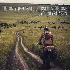Iowa travel meme images The only impossible journey is the one you never begin jpg