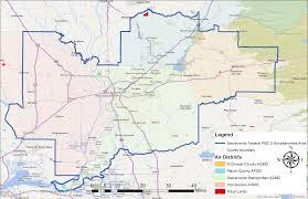 Map Sacramento Federal Planning