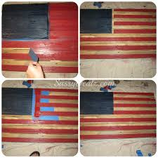 How Many Stars On The United States Flag Diy How To Make An American Flag Out Of A Wood Pallet Step By