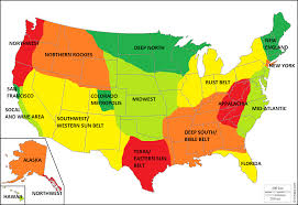 map usa bible belt what are the regions of america and how do they differ