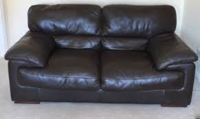 Leather Sofa Edinburgh Maverick Brown Leather Sofas In Corstorphine