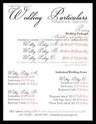 wedding invitations prices wedding item pricing s designs design style color