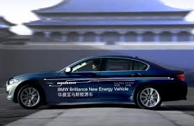 bmw hydrid bmw and brilliance to display in hybrid lwb 5 series concept