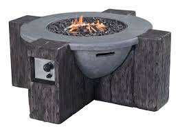 wood fire pit table 2 zuo vive outdoor hades propane fire pit grey 100414 modern