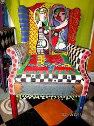 Painting Fabric Upholstery Best 25 Painted Fabric Chairs Ideas On Pinterest Painting