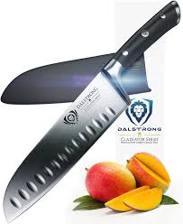 Japanese Kitchen Knives Review Dalstrong Gladiator Santoku Knife Review Japanese Knife Reviews