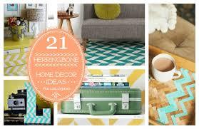 Craftaholics Anonymous Diy Toy Box With Herringbone Design by 21 Herringbone Home Decor Ideas