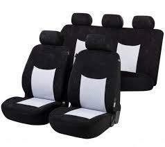 siege citroen c3 citroen c3 pluriel housse siège auto kit complet noir gris