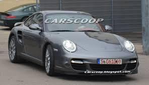 modified porsche 911 turbo spied 2010 porsche 911 turbo facelift