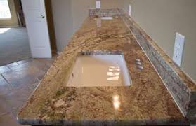 Granite Countertops For Bathroom Vanities Master Bathroom Vanity With Cherry Cabinets