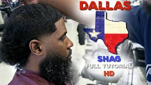 barber tutorial how to cut a dallas tx shag hd youtube