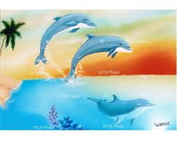 unique dolphin gifts dolphin print 8x10 dolphin