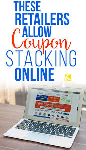 Barnes Noble Online Coupon These Retailers Allow Coupon Stacking Online The Krazy Coupon Lady