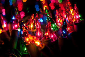 christmas lights traditional incandescent or leds the home