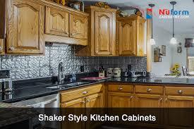 frameless shaker style kitchen cabinets think about shaker cabinets while kitchen remodeling