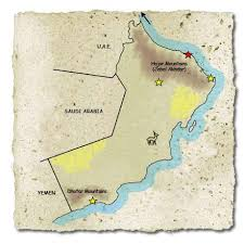 rub al khali map farside africa tailor made luxury safaris and holidays in africa