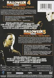 amazon com halloween 4 the return of michael myers halloween 5