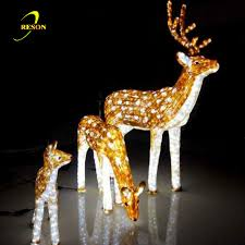 lighted reindeer lighted christmas led 3d acrylic deer buy christmas led acrylic