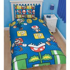 Mario Bros Bed Set Mario Bros Bett Set Dibinekadar Decoration