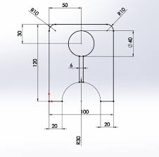 using advanced sketching tools exercise 2 in solidworks cad mode