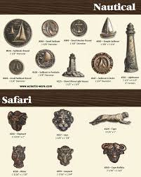 themed door knobs bucksnort nautical safari animal cabinet knobs eclectic ware