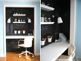 Apartment Design Ideas Small Apartment Design Idea Create A Home Office In A Closet
