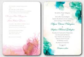 watercolor wedding invitations watercolor wedding invitations the best picture ideas with diy