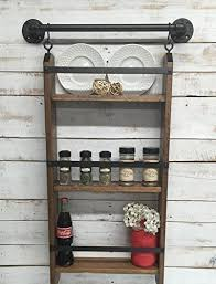 Industrial Shelving Unit by Amazon Com Kitchen Wall Shelf Kitchen Shelves Kitchen Wall