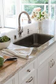brushed nickel faucet with stainless steel sink stainless steel sink with gold faucet design ideas