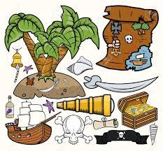 treasure map clipart treasure hunt vector illustrations set royalty free