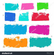 paint color trail brush paint roller stock vector 318918065