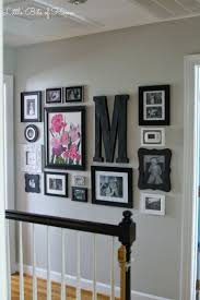 little bits of home hallway gallery wall bedroom pinterest