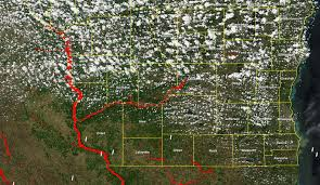 Upper Midwest Map River Flooding In The Upper Midwest Cimss Satellite Blog