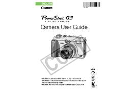 canon printer manuals canon powershot g3 user manual