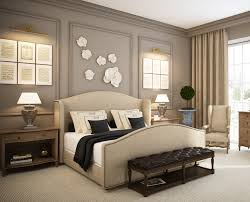 impressive of beautiful charmingly bedroom arrangement ideas modern master bedroom design with queen size beds which has winged headboard and beautiful art wall