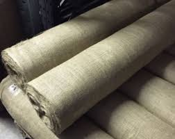 Upholstery Burlap Hessian Fabric Etsy