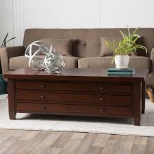 walnut cherry navigator coffee table free shipping today