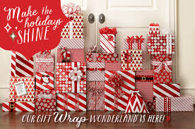 container store christmas wrapping paper the container store today online only gift wrap milled