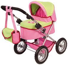 bayer design puppenwagen bayer design 13045 puppenwagen trendy pink grün de