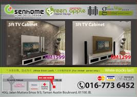 cheaper tv cabinet promotion in johor green home interior design