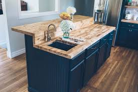 our kitchen renovation full reveal jess ann kirby jess ann kirby s kitchen renovation with lowes new butcher block countertops with delta faucet and
