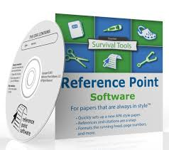 amazon com reference point template version apa style