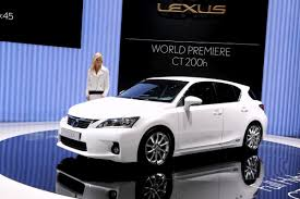 lexus hs usa geneva show lexus ct 200h to be sold in the usa premieres in new