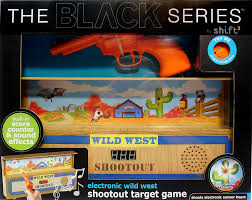 black friday target cds amazon com the black series electronic wild west shootout target