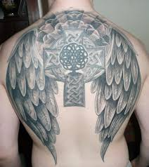 celtic cross with wings picture at checkoutmyink com