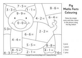 chinese zodiac maths facts colouring