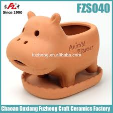 terracotta animal planters home design ideas